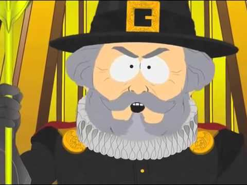 South Park History Channel Thanksgiving trailer
