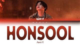 Baixar Agust D – Honsool (혼술) (Color Coded Lyrics/Han/Rom/Eng/Pt-Br)