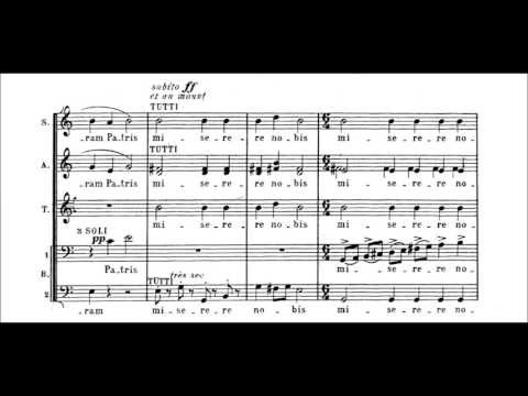 Francis Poulenc - Mass in G Major [With score]