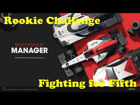 [{(Motorsport Manager | Rookie Challenge)}] Fighting For Fifth |