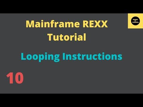 Mainframe tutorial rexx 7 youtube.