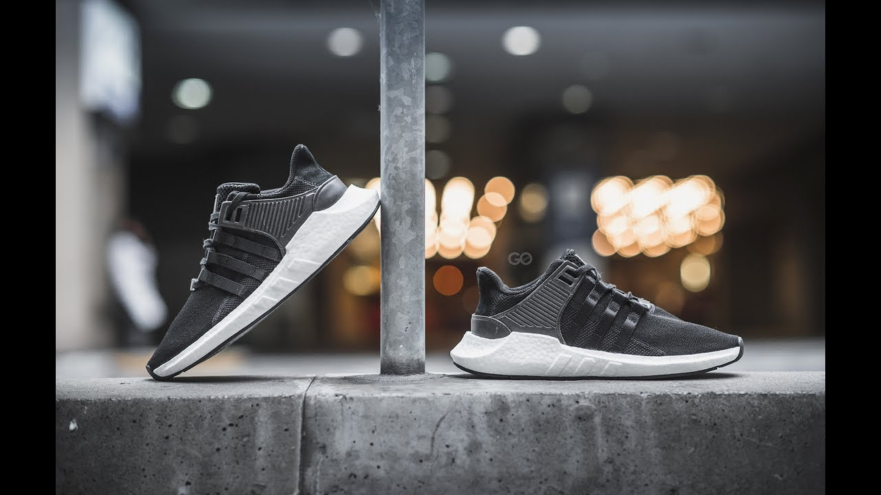 Adidas EQT Support 93/17 white Review