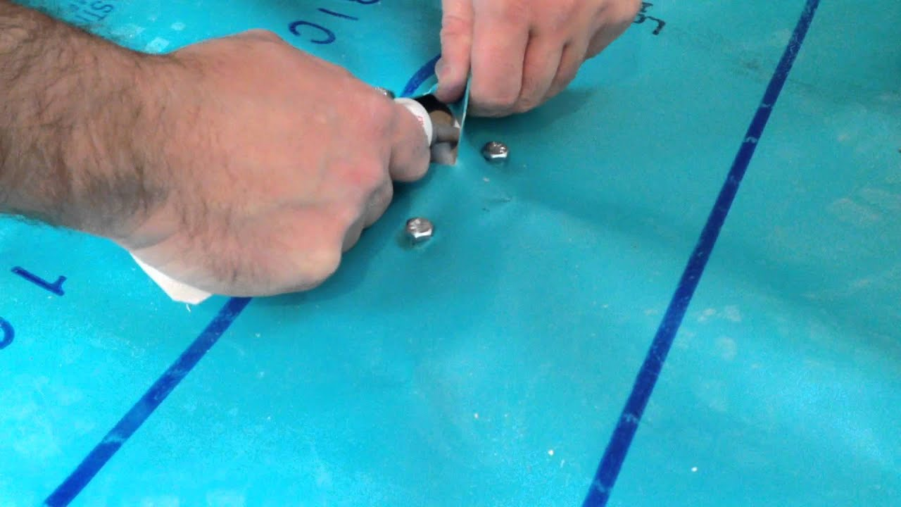 How to Install a Shower Pan Liner (Membrane) - YouTube
