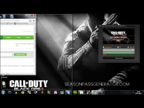 How to get Black Ops 2 Season Pass Codes - XBOX 360 / PS3 / PC