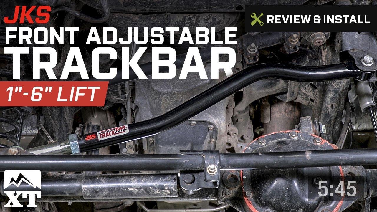 hight resolution of jeep wrangler jks front adjustable trackbar 2007 2017 jk review install