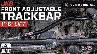 for Jeep; OGS126 JKS Suspension Adjustable Front Track Bar