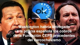 ¡EEUU envía a la policía española documentos extraordinariamente comprometedores para  Iglesias!
