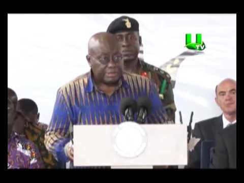 Prez. Akufo Addo turns valve for first oil from FPSO Kufuor