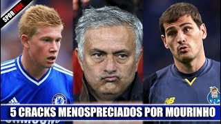 5 Futbolistas DESPRECIADOS por MOURINHO