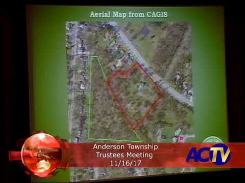 Anderson Township Trustees Meeting 11/16/17