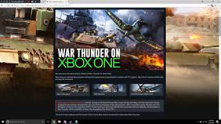 War Thunder - Xbox One Edition Announcement (Discussion/Rant)