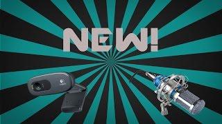 New Webcam and Mic! | Crevix