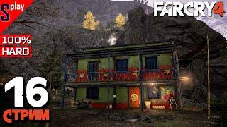 Far Cry 4 на 100% (HARD) - [16-стрим] - Собирательство и доп задания