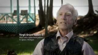 Virgil Grant Vaden II, an apical TAVR Success Story video thumbnail