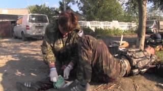 Аэропорт Донецка 30.09.2014. Битва за аэропорт, реальный бой +18 (часть 3)