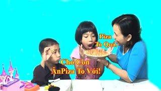 Trò Chơi Mẹ Ghẻ Con Chồng P21❤ Mẹ Ơi Cho Con Ăn Piza To Với❤Baby channel❤