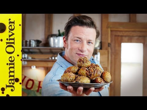 Christmas Hasselback Potatoes | Jamie Oliver