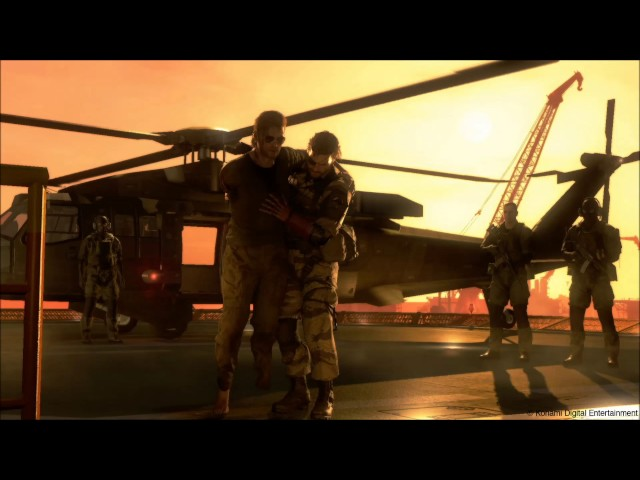 Why are we still here? just to suffer?_Metal Gear Solid V Kaz Miller speech