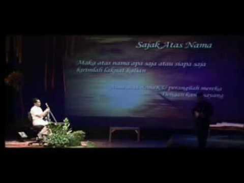 Gus Mus Idris Sardi pagelaran satu rasa 1