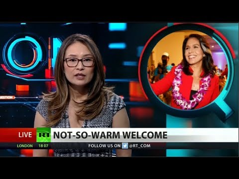 RT America: Tulsi Gabbard's 'links to Russia'
