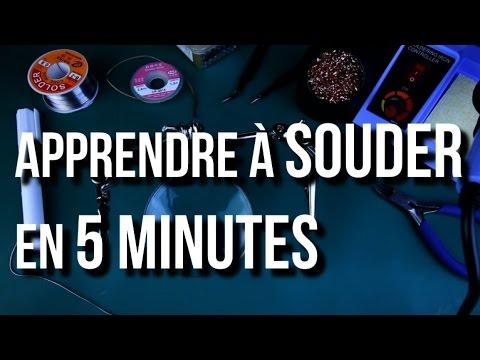 U ri apprendre souder en 5 minutes youtube - Apprendre a souder ...