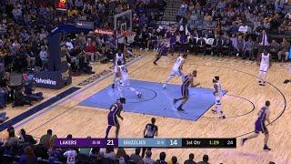 1st Quarter, One Box Video: Memphis Grizzlies vs. Los Angeles Lakers