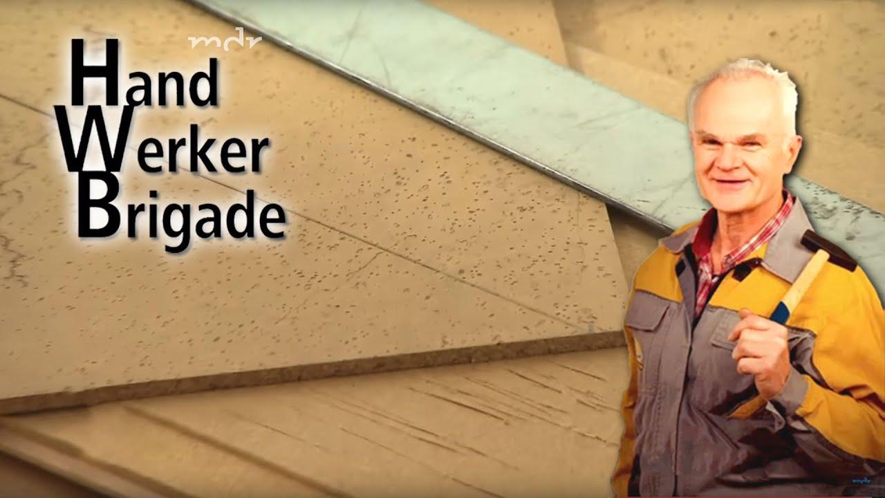 die handwerkerbrigade: kork-fußboden verlegen | mdr um 4 | mdr - youtube