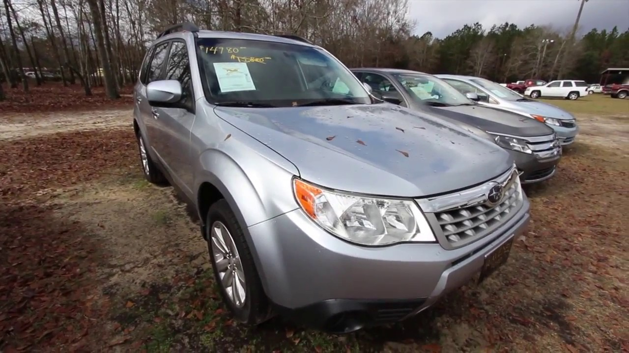 2012 subaru forester 2 5x premium full in depth review for sale video at ravenel ford youtube. Black Bedroom Furniture Sets. Home Design Ideas