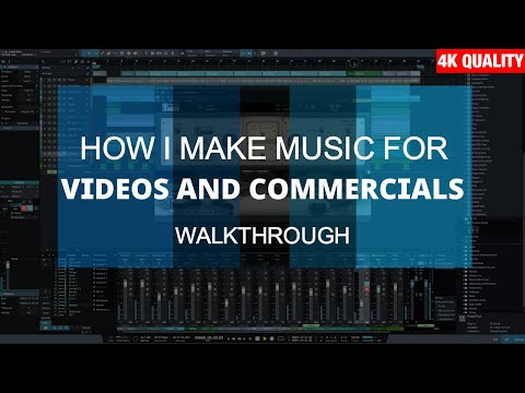 How I Make Happy Upbeat Music For Videos, Films, Commercials (Composing Walkthrough In Studio One 3)