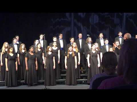 Hauppauge High School Chamber Choir 2019 - Hallelujah From the Mount of Olives