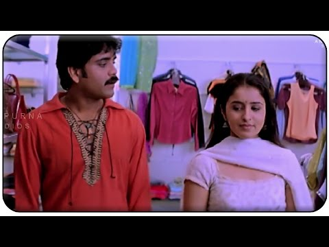 Nagarjuna & Anshu Shopping Comedy || Manmadhudu Movie