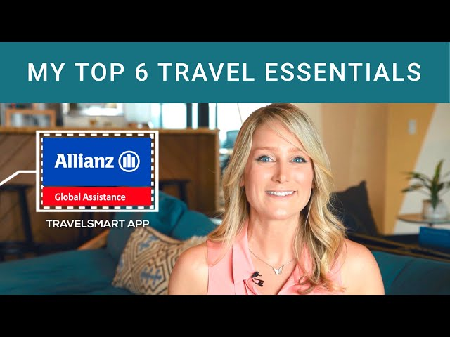 My Top 6 Travel Essentials in Partnership with Allianz Travel Insurance