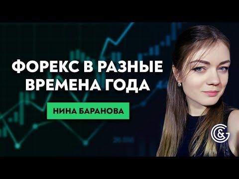 Как торговать на рынке Форекс в разные времена года. Сезонность в торговле. Нина Баранова.