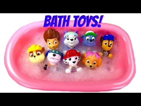 Best Paw Patrol Bath Toy Video for Children  - Paw Patrol Wash a Dirty Dog