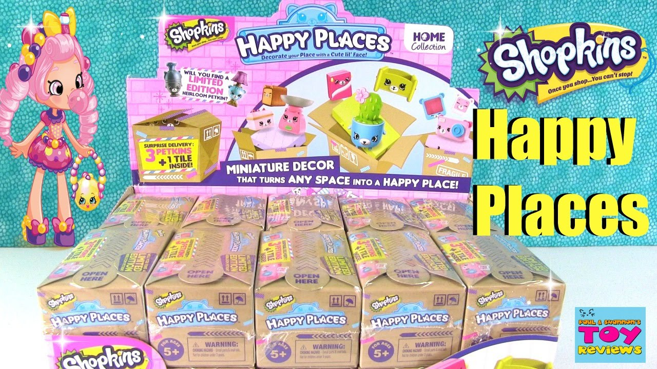 Shopkins Happy Places 2 Pack Surprise Delivery Blind Bags