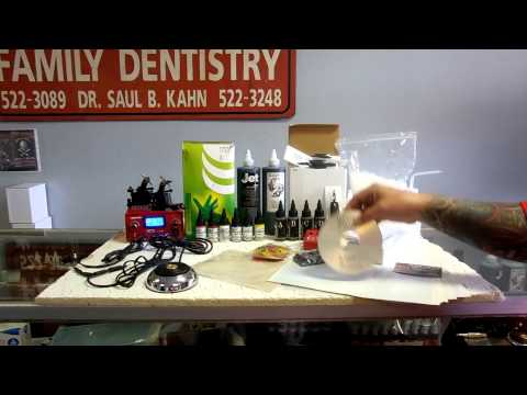 Professional Tattoo Kit in New Orleans Westbank Tattoo Supply Store