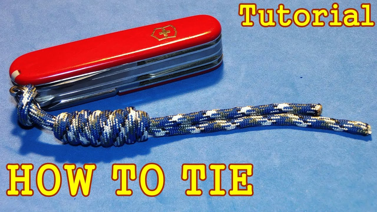 How to tie paracord lanyard with overhand sliding knot tutorial how to tie paracord lanyard with overhand sliding knot tutorial guide youtube baditri Image collections