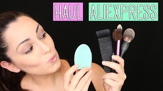 Haul aliexpress brochas