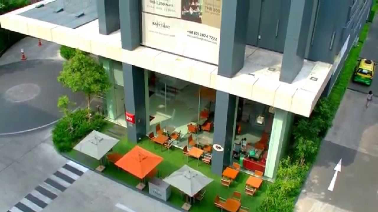 曼谷自由行 - National Stadium空鐵站傍 暹邏宜必思&美居酒店 Mercure ibis 利特酒店 Lit - YouTube