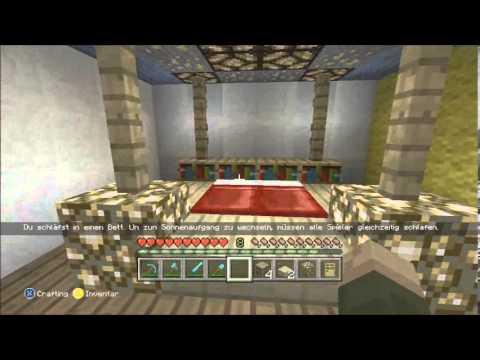 Minecraft sch ner wohnen 8 schlafzimmer einrichten xbox360 edition youtube - Minecraft schlafzimmer ...