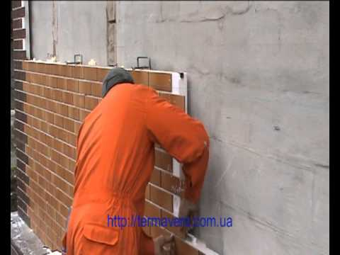 Монтаж термопанелей терм-Аверс