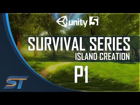 1. Survival Game Tutorial In Unity 5 - Island Creation