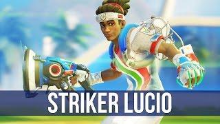 Overwatch: Striker Lucio Gameplay! (Summer Games)