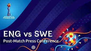 ENG  v. SWE - Post-Match Press Conference