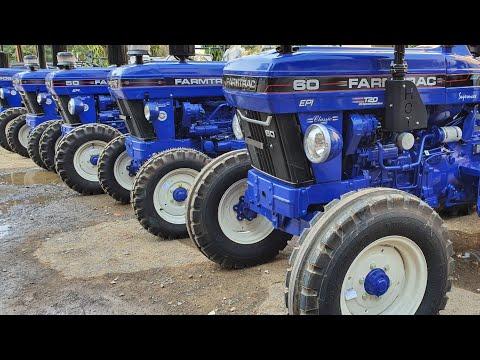 🔥2020 FarmTrac 6055 Powermaxx 60 HP 4×4 Tractor Hindi Review| 2020 फार्मट्रैक 6055 पावरमैक्स 60HP