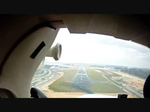 Cessna 172 circuits at Seletar WSSL