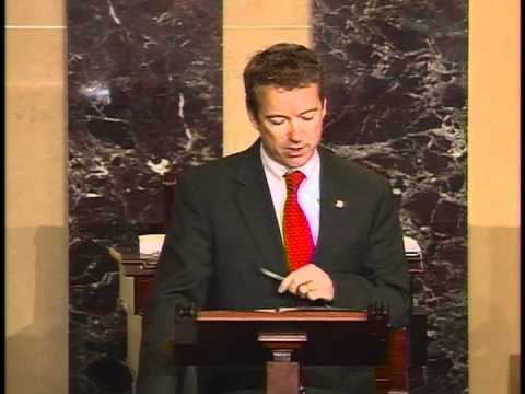 Sen. Rand Paul Introduces Amendment To End Foreign Aid To Egypt - 2/9/12