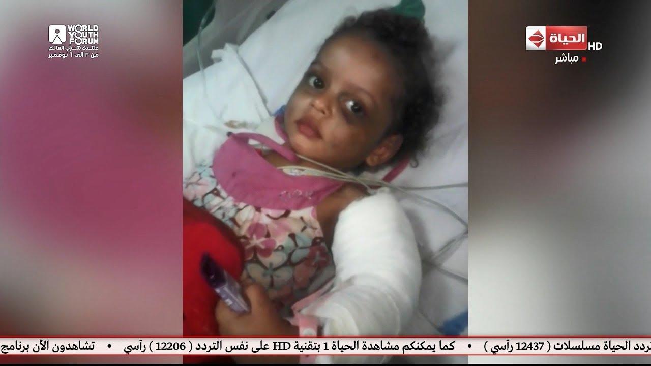 صبايا مع ريهام سعيد - أب يروي قصة تعذيب إبنته علي يد أمها وزوج أمها و تسبب في شللها