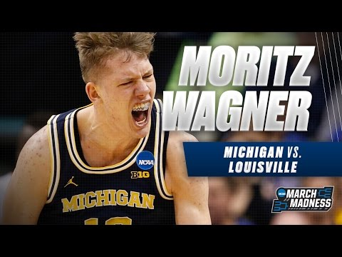 Michigan vs. Louisville: Moritz Wagner scores 26 points for Wolverines