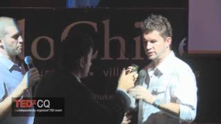 TEDxCQ - Michael and Christopher Smith - Can Singapore create the next facebook?